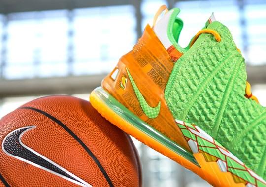 Nike Announces Partnership With Florida A&M With A LeBron 18 PE
