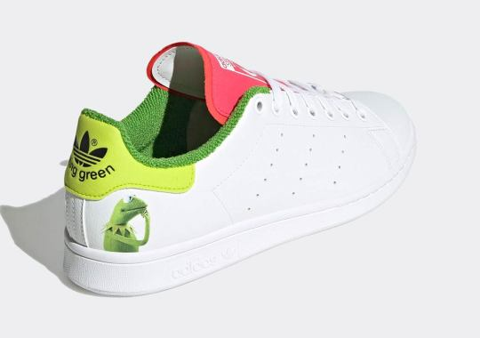 Kermit The Frog's Pink Tongue Appears On His Next adidas Stan Smith