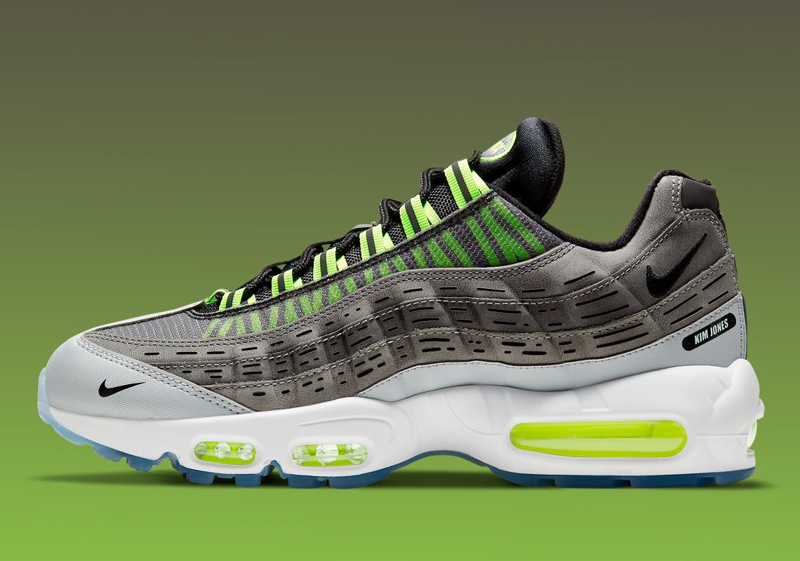 Kim Jones Nike Air Max 95 Volt DD1871-002 Release   SneakerNews.com
