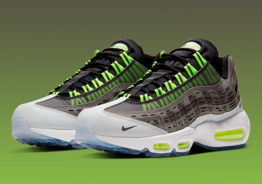 "Official Images Of The Kim Jones x Nike Air Max 95 ""Volt"""