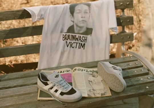 "Mark Gonzales' adidas Aloha Super ""Brainwash Victim"" Is Available Now"
