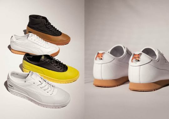 Maison Kitsuné Bridges Vintage And Modern Design For Their First-Ever Collaboration With PUMA