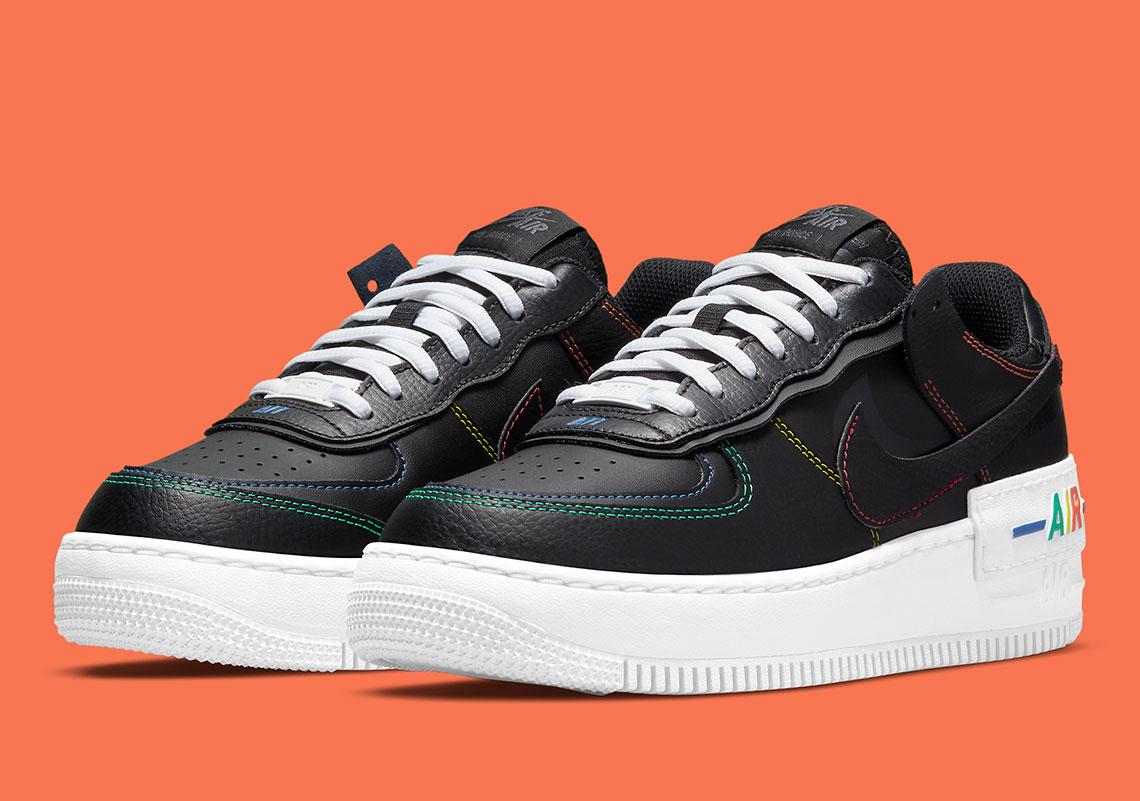 Nike Air Force 1 Shadow DJ5998-001 Release Info | SneakerNews.com