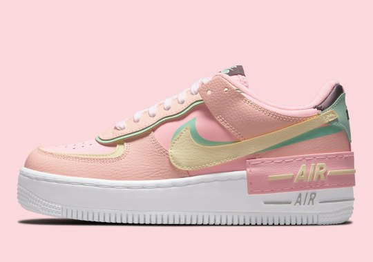 """The Nike Air Force 1 Shadow Returns In """"Arctic Punch"""""""