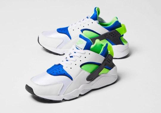 """Where To Buy The Nike Air Huarache OG """"Scream Green"""""""
