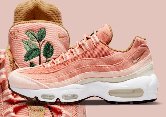 """Shades Of Pink Land On The Latest Nike Air Max 95 """"Cork"""""""