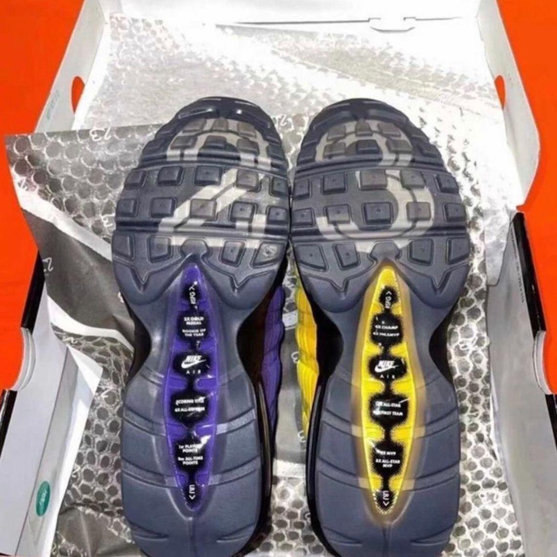 LeBron James Nike Air Max 95 Lakers CZ3624-001   SneakerNews.com