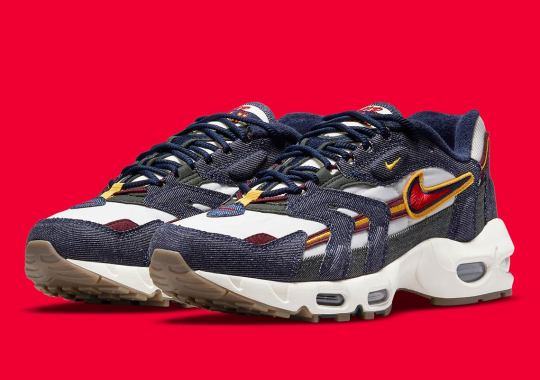 The Nike Air Max 96 II Pursues Higher Learning With Collegiate-Inspired Colors