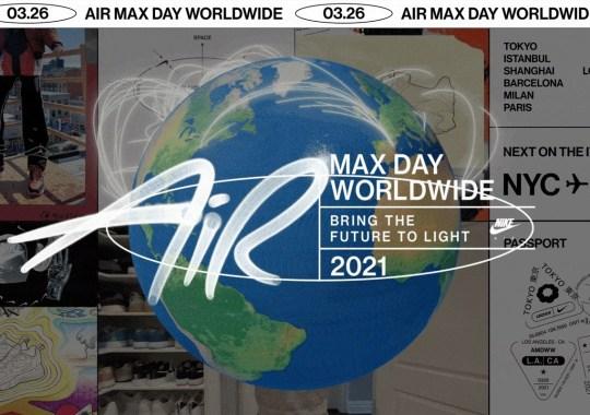 Nike Announces Air Max Worldwide, A Virtual Celebration Of Air Max Day 2021