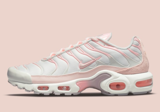 Light Pinks Cover The Latest Nike Air Max Plus