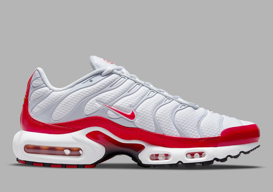 Nike Air Max Plus Sport Red DM8332-100 | SneakerNews.com