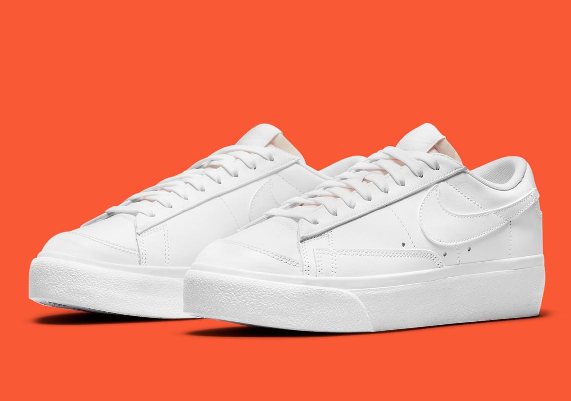 Nike Blazer Low Platform W DJ0292-101 DJ0292-100 | SneakerNews.com