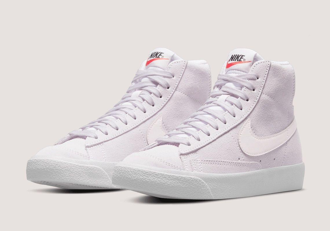 Nike Blazer Mid Light Violet White DC8248-500 | SneakerNews.com