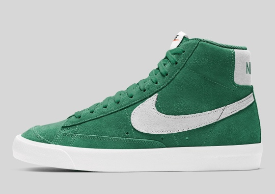 "The Nike Blazer Mid '77 Suede ""Pine Green"" Is Available Now"