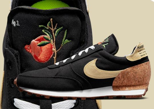 """Official Images Of The Nike Daybreak Type """"Pomegranate"""""""