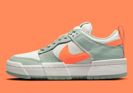 """The Nike Dunk Low Disrupt Returns In """"Sea Glass"""""""