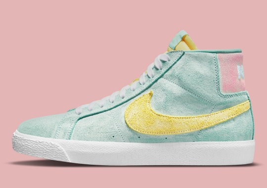 "Nike SB Introduces A ""Faded"" Style Of Blazer Mids"