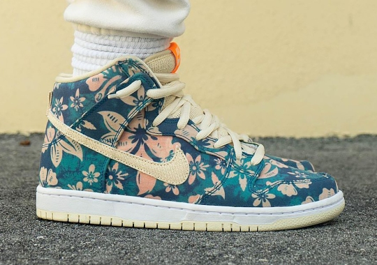 "Nike SB Goes Tropical With The Dunk High ""Hawaii"""