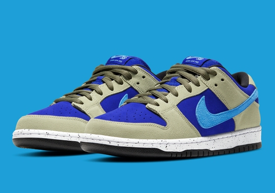 """Nike SB Further Nods To The ACG Terra With The Dunk Low """"Celadon"""""""