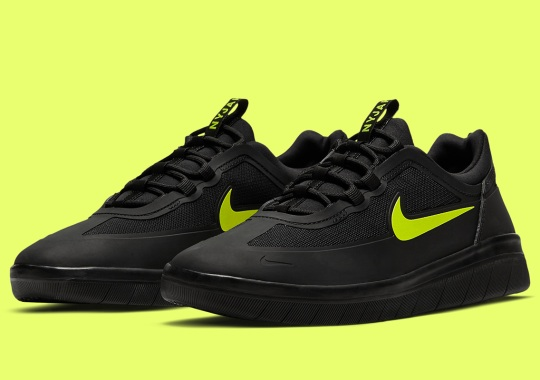 The Nike SB Nyjah 2 Goes Dark With Cyber Accents