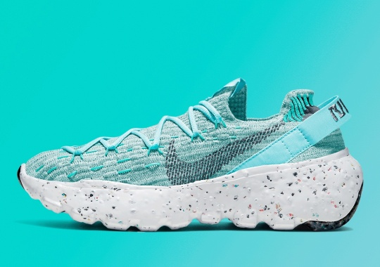 The Nike Space Hippie 04 Prepares For Summer With Refreshing Aqua Hues