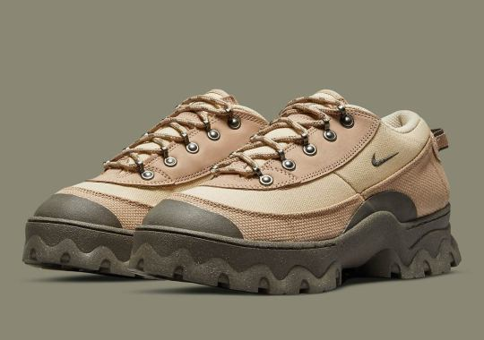 """The Nike Lahar Low Returns In A New """"Hemp"""" Colorway"""