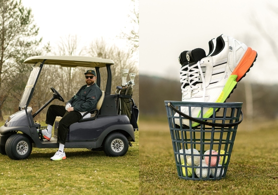 """The adidas A-ZX 8000 """"Golf"""" Features Textured Exteriors, Magnetic Markers, And More"""