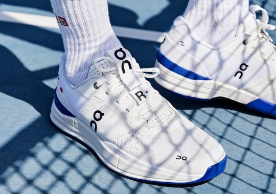 Roger Federer And On Footwear Debut THE ROGER Pro Signature Tennis Shoe