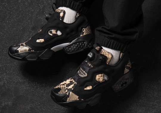 The Reebok Instapump Fury OG Slithers With Two Snakeskin Options