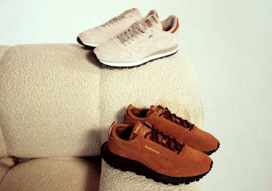 """SNS Debuts Its """"Walking"""" Capsule Centered Around The Reebok Classic Leather"""