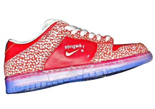 Stingwater Brings Their Eccentric Art Direction To The Nike SB Dunk Low