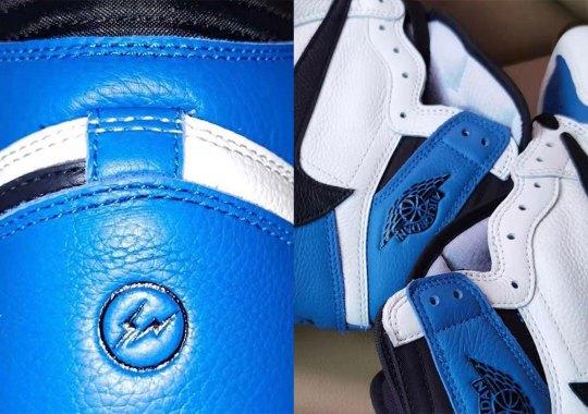 Travis Scott And Hiroshi Fujiwara's Fragment Air Jordan 1 Revealed