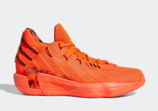 """The adidas Dame 7 """"Fire Inside"""" Launches On April 2nd"""