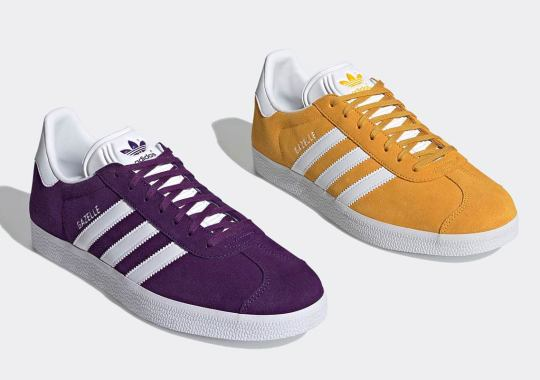 Together, These adidas Gazelles Celebrate The LA Lakers