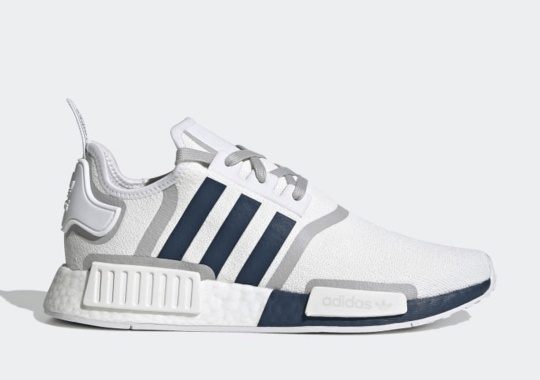 College Colors Appear On The adidas NMD R1 With Split-Blocked Boost Soles