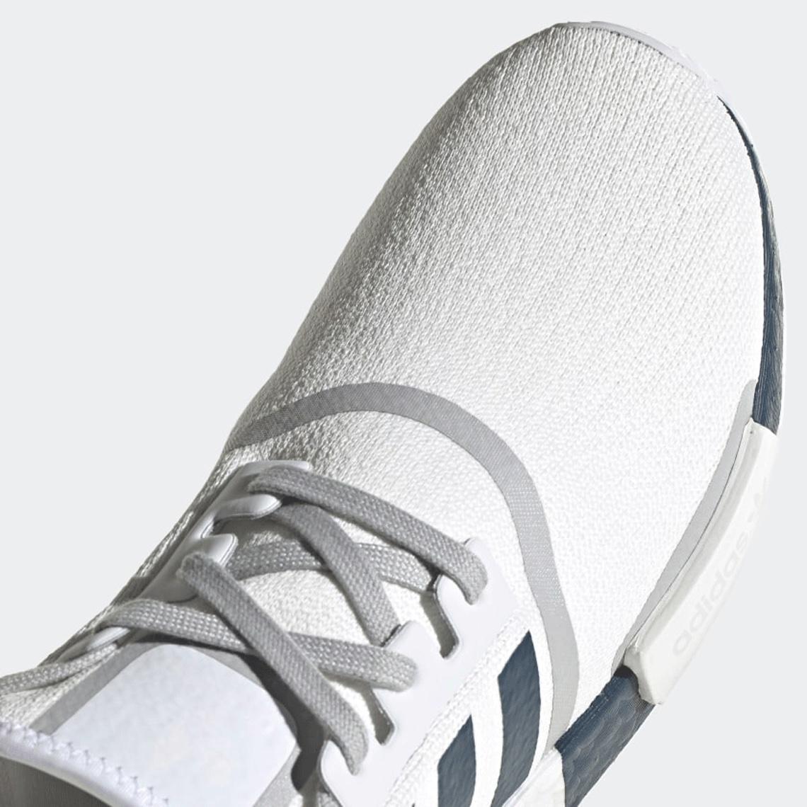 adidas NMD R1 Cloud White Crew Navy G55576 | SneakerNews.com