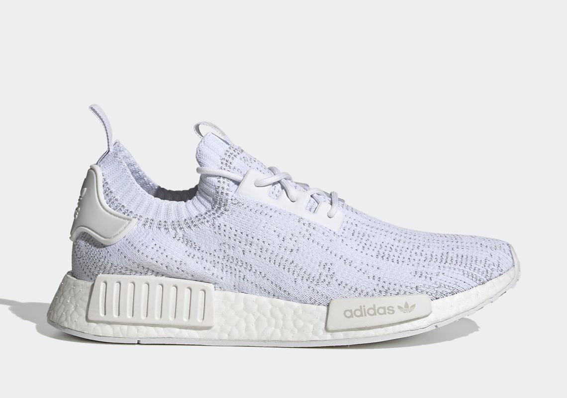 adidas NMD R1 Cloud White Glitch Camo FX6768 | SneakerNews.com