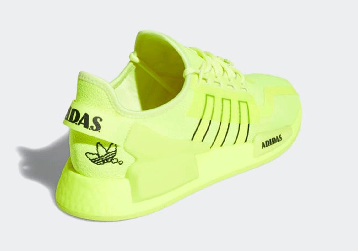 adidas NMD R1 V2 Solar Yellow H02654 Release | SneakerNews.com