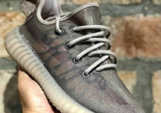 """First Look At The adidas Yeezy Boost 350 v2 """"Mono Mist"""""""