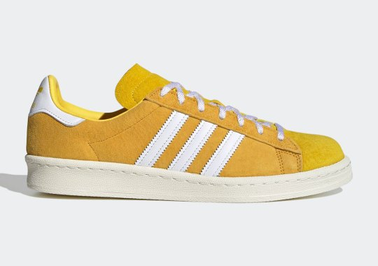 "The adidas Campus 80s Gets Gilded in ""Bold Gold"""