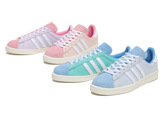 The adidas Campus 80s For Women Sees Spring Pastels In Alternate Colorblocking