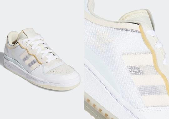 The adidas Forum Gets Rebuilt With Transparent TPU Upper Panels