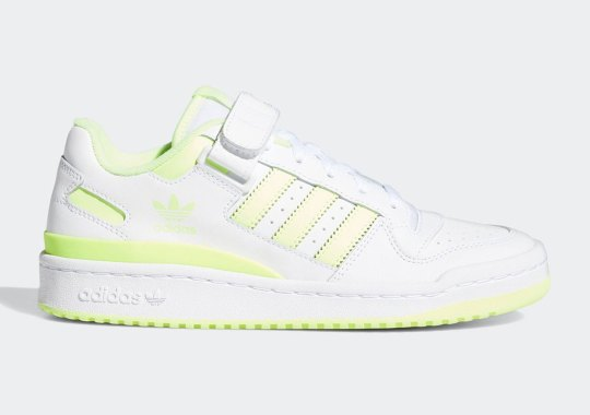 The adidas Forum Lo Enlightened By Bright Yellow Hues