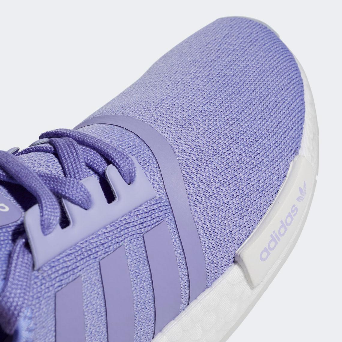 Wmns NMD_R1 'White Dust Purple'