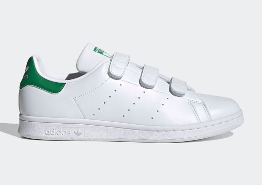 The adidas Stan Smith In The OG Fairway Green Returns With Velcro Straps