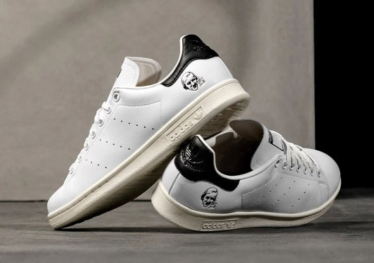 Stan Smith's Face Stamped Into This Upcoming adidas Stan Smith Release