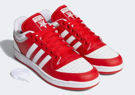 adidas Hones In On 80s Basketball Looks With The Top Ten Low