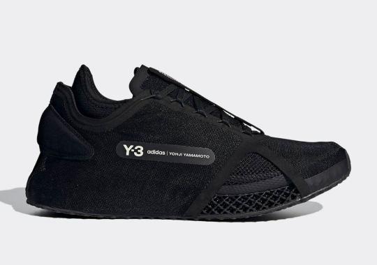 adidas Y-3 Unveils The Runner 4D IO In Triple Black