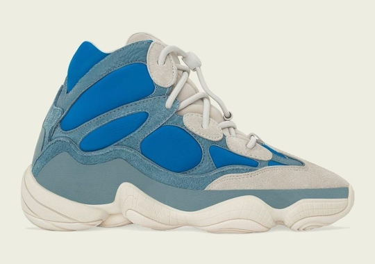 """adidas Yeezy 500 High """"Frosted Blue"""" Releases April 12th"""