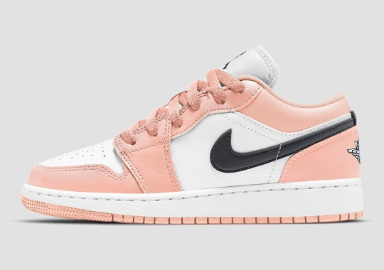 "Another Air Jordan 1 Low ""Light Arctic Pink"" Appears For Kids"